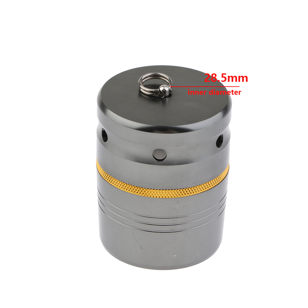 1PC 5 Sizes  Stylish Aluminum Alloy Fishing Rod End Cap Butt Fishing Reel Cases Holders Aluminum Cap for fishing Rod Accessories