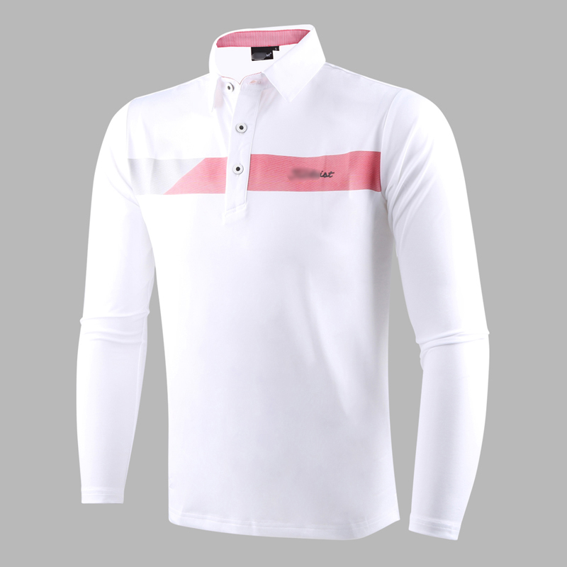 New golf clothing men long-sleeve Golf sport clothes POLO S-XXXL 5 colors golf T-shirt Free shipping W7101