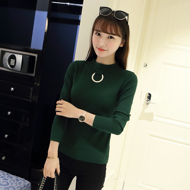 OHCLOTHING 3751-Nuevo Coreano de manga larga de punto suéter de la camisa 40