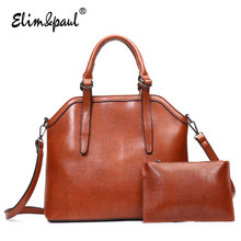 ELIM&PAUL Women Top-Handle Bags Female Large Tote Bags Handbags Shoulder Bags Women Leather Crossbody Bag Bolsos Mujer YL-B07