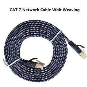 Image 5 - 10Gbps Ethernet Kabel RJ45 Cat7 Lan Kabel Sstp Rj 45 Netwerk Kabel Platte Cat7 Patch Cord Voor Modem Router computer Kabel Ethernet