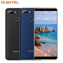 Oukitel C11 Pro 4G Mobile Phone 5.5 inch 3G RAM 16G ROM MTK6739 Quad Core Android 8.1 8MP+2MP 3400mAh Fingerprint Smartphone
