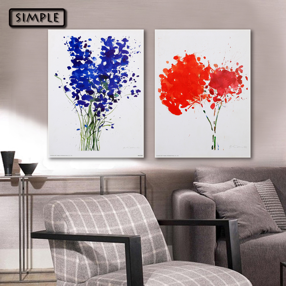 Modern Wall Paintings Living Room Online Get Cheap Red Wall Art Aliexpresscom Alibaba Group