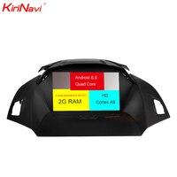 KiriNavi Octa core 4G LET android 7 car radio 2 din for ford kuga multimedia 2013 2017 support 4K Video 4G