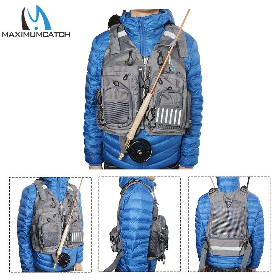 Maximumcatch Fly Balıqçılıq Vest Tənzimlənən Mutil Cib - Balıqçılıq - Fotoqrafiya 6