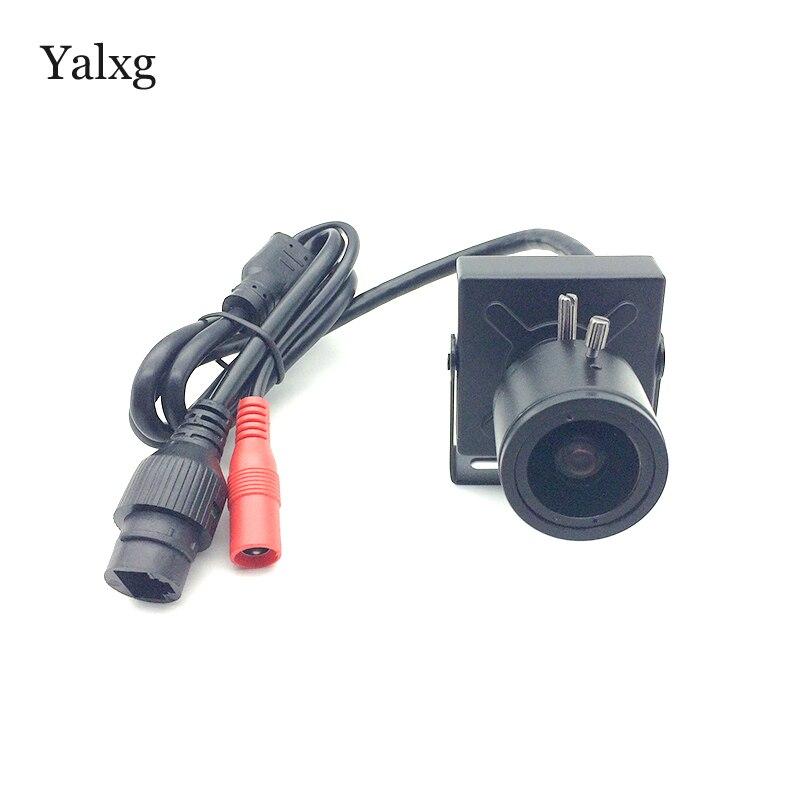 Sécurité à domicile Mini IP 720 P/960 P intérieur capteur CMOS mise au point manuelle 2.8-12mm lentille réseau caméra prise en charge iOS/Android vue à distance
