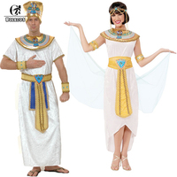 ROLECOS Brand New Men Adult Women Kids Halloween Costumes Ancient Egypt Pharaoh Cosplay Costumes Family Halloween