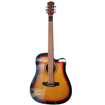 "41"" Folk Pop Guitar Basswood Wood Matte Guitarra for Students Acoustic Guitar 6 Strings Instrument Top Quality AGT21"