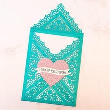 YaMinSanNiO Lace Frame Dies Envelope Metal Cutting Dies For DIY Scrapbooking Embossing Paper Cards Making Decorative Craft раковина melana 41 mln а173с белая