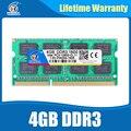 So-dimm DDR3 4 ГБ 1600NHz PC3-12800 Озу Совместимость ddr3 1333 PC3-10600 ddr 3 204pin Для AMD Intel Ноутбук пожизненная Гарантия