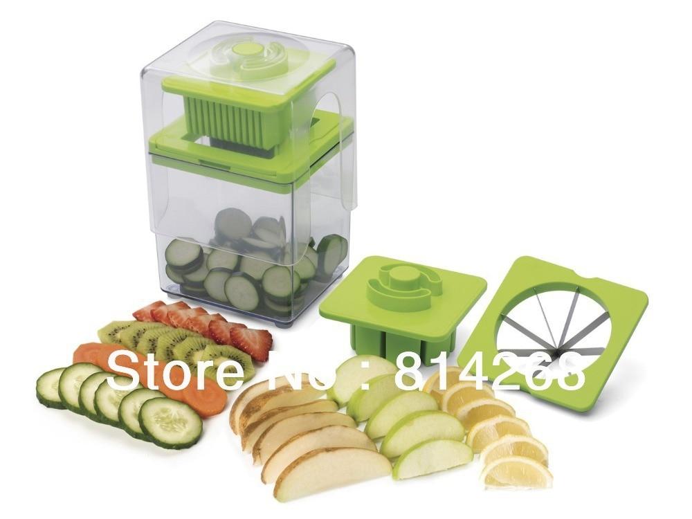 chop magic vegetable cutter progressive tower slicer 48pcslot - Vegetable Dicer