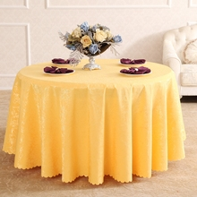 Phoenix On Branches  Rectangle Small Polyester Jacquard Hotel Tablecloths Wedding Table Round Cloth Decoration Mariage