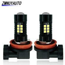 2Pcs H8 H11 LED HB3 9005 HB4 9006 Led Bulb 3030 21SMD 1200LM 6000K White Car DRL Driving Running Lamp Auto Fog Lights 12V