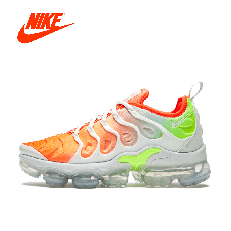 Original authentic 2018 nike vapormax mais tênis