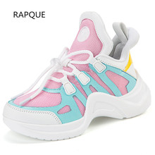 e5101ee57 جديد تصميم الأطفال رياضية أطفال أحذية رياضية الفتيان الفتيات الربيع الخريف  الشباب الطفل احذية الجري الشتاء