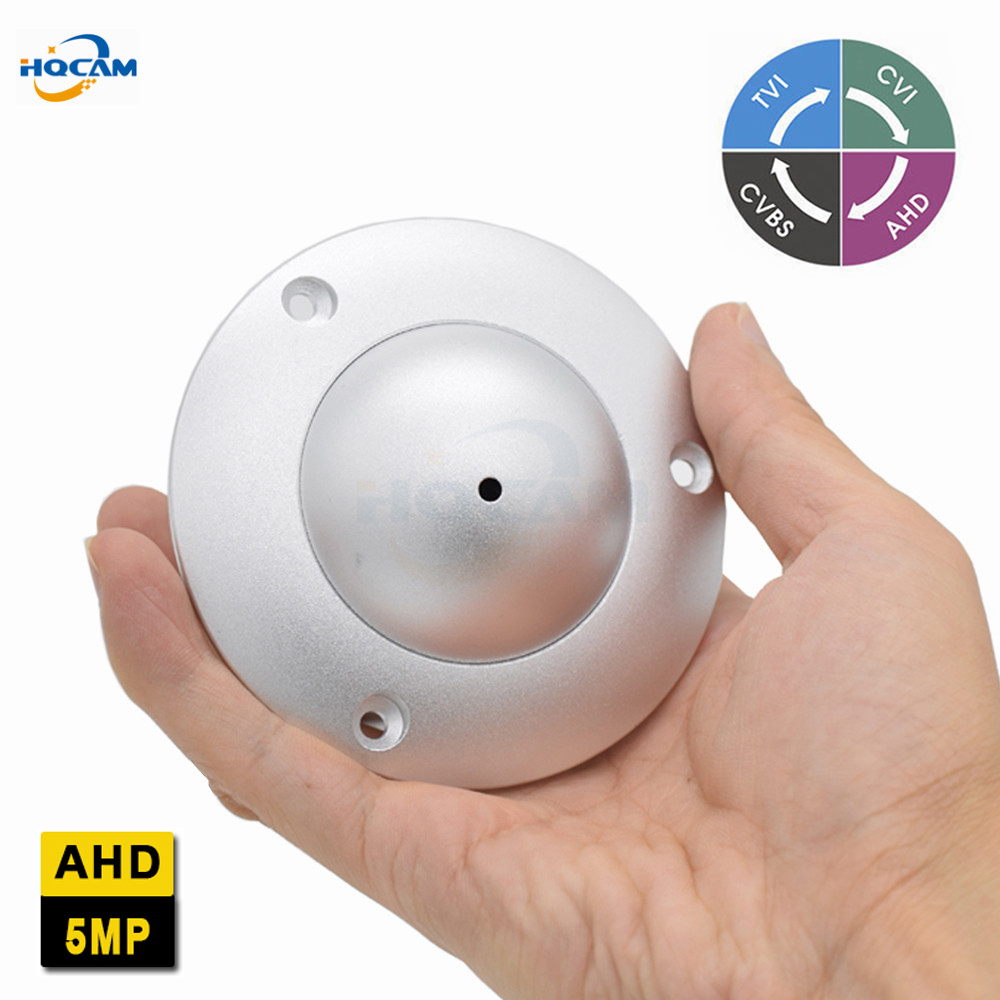 HQCAM Mini Dome Camera 5.0MP Camera Indoor Elevator Lift Security UFO Camera DIP switch 4 IN 1 AHD5MP/4MP,TVI5MP/4MP,CVI4MP,CVBS tlp627 1 dip 4 p627