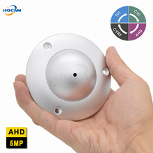 HQCAM Mini Dome Camera 5.0MP Camera Indoor Elevator Lift Security UFO Camera DIP switch 4 IN 1 AHD5MP/4MP,TVI5MP/4MP,CVI4MP,CVBS