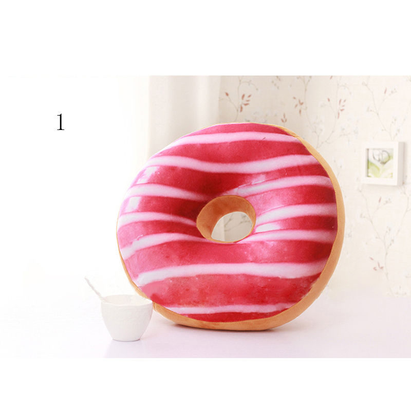 Chocolate Donuts Cushion And Soft Plush Pillow Car Seat Mats Cushion 9