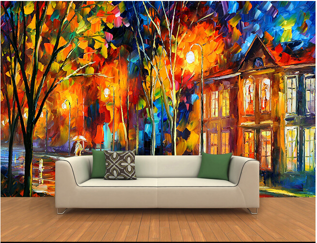 The custom 3D murals,3 d forest background wall painting  papel de parede,living room sofa TV wall bedroom wall paper the custom 3d murals the new york times center building street black and white living room sofa tv wall bedroom wall paper