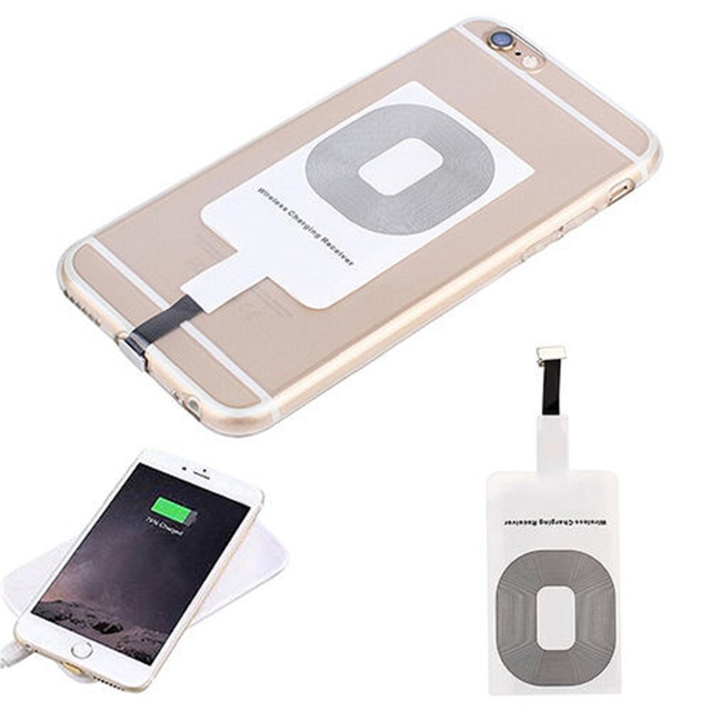 For Iphone 5 5s 5c SE 6 6s 7 Plus Wireless Charger Case Cover