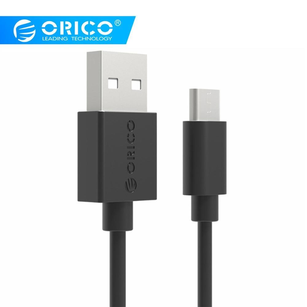ORICO USB Cabo Tipo C para Xiaomi Redmi Nota Mi9 7 C USB Do Telefone Móvel Cabo de Carregamento Rápido Tipo- C Cabo para Samsung S9 S10 Plus