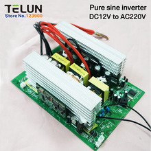 Pure Sine Inverter Board DC12V to AC220V Peak 2000W Continuous 1000W High Frequency Variable Frequency Drive DIY Power Supply