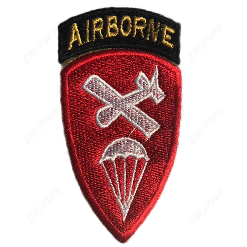 WW2 US ARMY AIRBORNE COMMAND CANVAS ARMBAND REPLICA