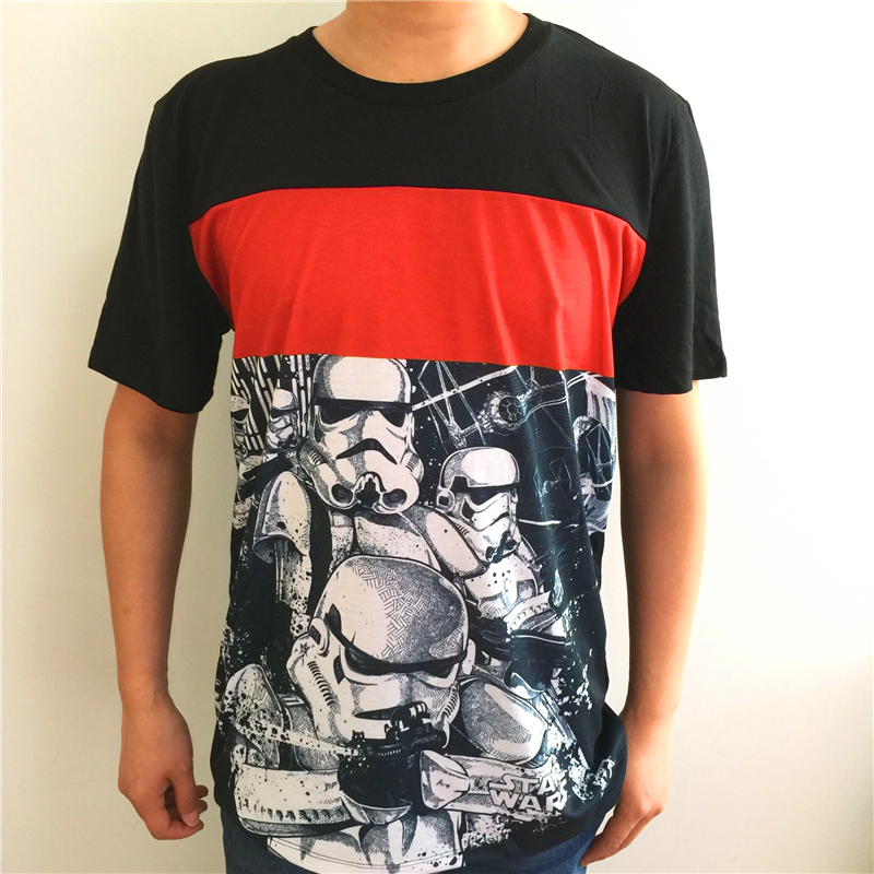 Fashionable Camisetas Vader T Shirts Men Star Wars Casual Tshirt Hip Hop Summer New Short Sleeve T-shirt