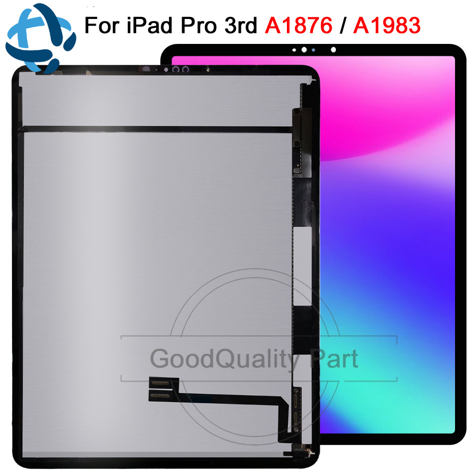 100% Test Tablet LCD For iPad Pro 3 12.9 3rd Gen 2018 A1876 A2014 A1895 A1983 Display Touch Screen Panel Assembly Replacement