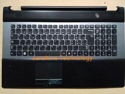 Schweizer layout neue laptop tastatur mit touchpad palmrest für Samsung BA75-03204M RC730