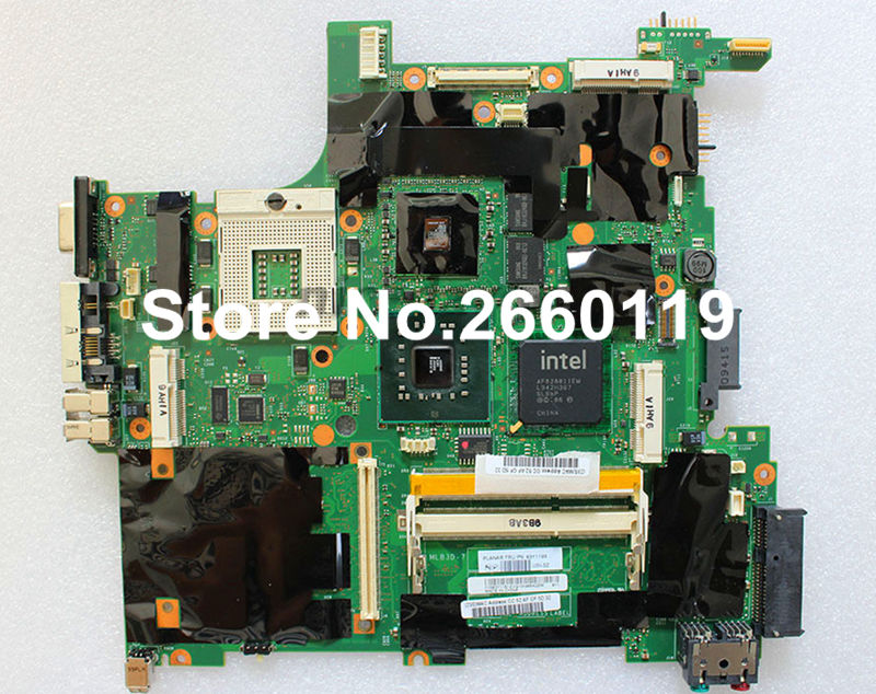 ФОТО laptop motherboard for Lenovo T400 63Y1199 system board fully tested and working well
