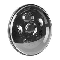 Super Bright 40W 7 Inch Round LED Motorcycle Headlight for Harley Fatboy, Electra Glide, Road King