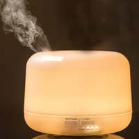 Air Humidifier Oil Diffuser With 7 Color Diffuser Mist Maker Aroma Lamp Aromatherapy Electric Ultrasonic Aroma