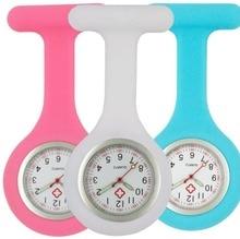Orologi da infermiera in silicone luminoso orologi da tasca da donna doctor FOB orologi da polso al quarzo per ospedale medico allingrosso