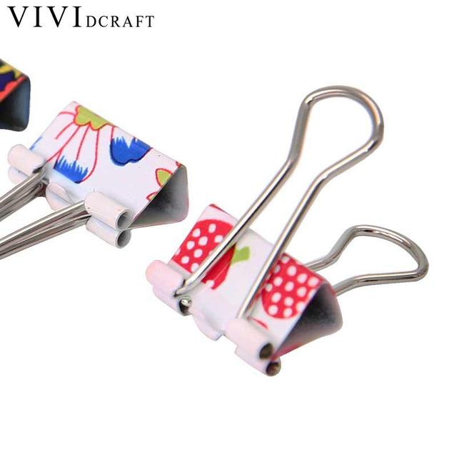 Vividcraft Metal Pince Bureau Accessoires En Metal Papier Clips 24