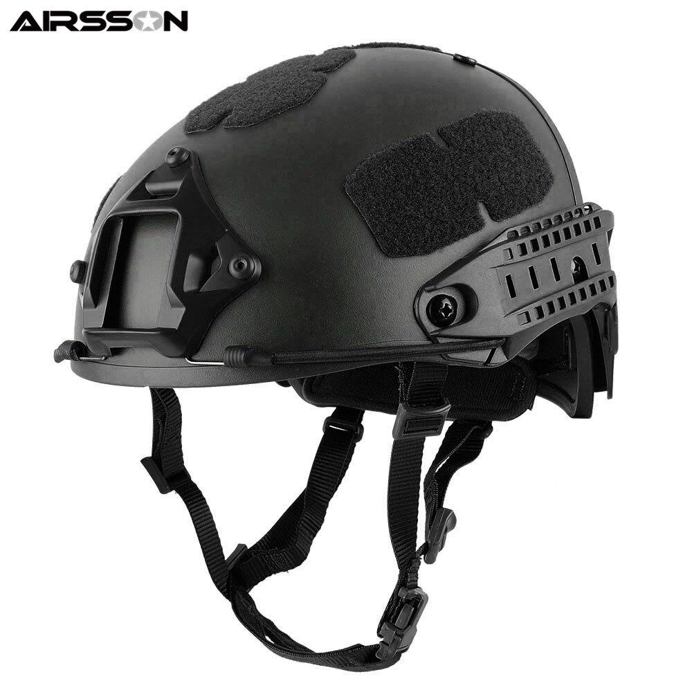 FMA Airsoft Helmet Tactical Military General Suspension System Assault Head Protector Adjustable Lanyards Padded Helmet Strap 2015 new kryptek typhon pilot fast helmet airsoft mh adjustable abs helmet ph0601 typhon