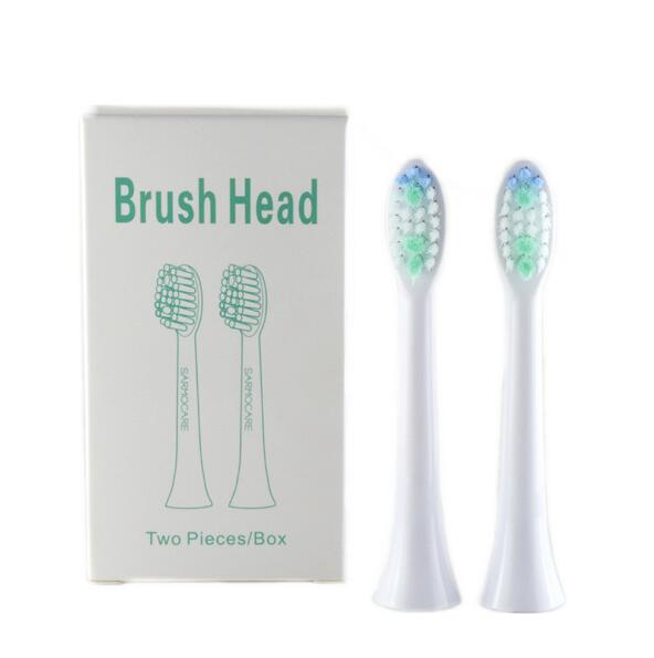 1120 2 Pcs Toothbrushes Head For Sarmocare S100/200 Ultrasonic Sonic Electric Toothbrush With Gift Box