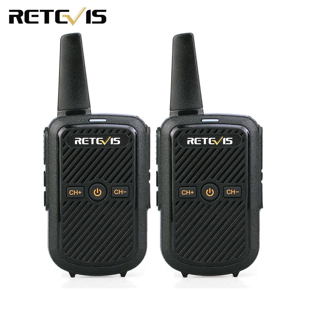 2 pcs Retevis RT15 Mini Talkie Walkie 2 w UHF 400-470 mhz 16CH CTCSS/DCS VOX Scrambler two Way Radio USB Chargeur Hf Émetteur-Récepteur