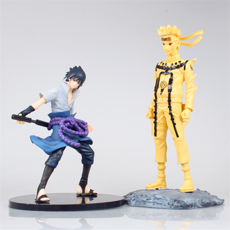WVW 21CM Hot Sale Anime Heroes Naruto Sasuke Model PVC Toy Action Figure Decoration For Collection Gift Free shipping new naruto shippuden orochimaru pvc action figure collectible model toy 13cm doll brinquedos juguetes hot sale freeshipping