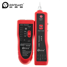Dorewin Cat5 Cat6 RJ45 Telephone Wire Tracker Tracer Ethernet LAN Cable Tester Diagnose Tone Network Tools Detector Line Finder