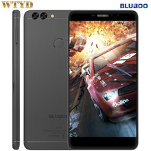 "4G Original Smartphone Bluboo Dual 2GB+16GB Fingerprint Identification 5.5"" Android 6.0 MTK6737T Quad Core up to 1.5Ghz OTG GPS"