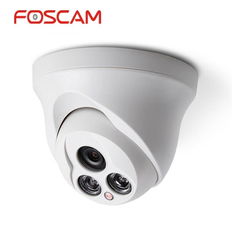 Foscam FB836 720P Indoor Camera H 264 P2P IP Dome Camera HD Resolution Support Onvif Night