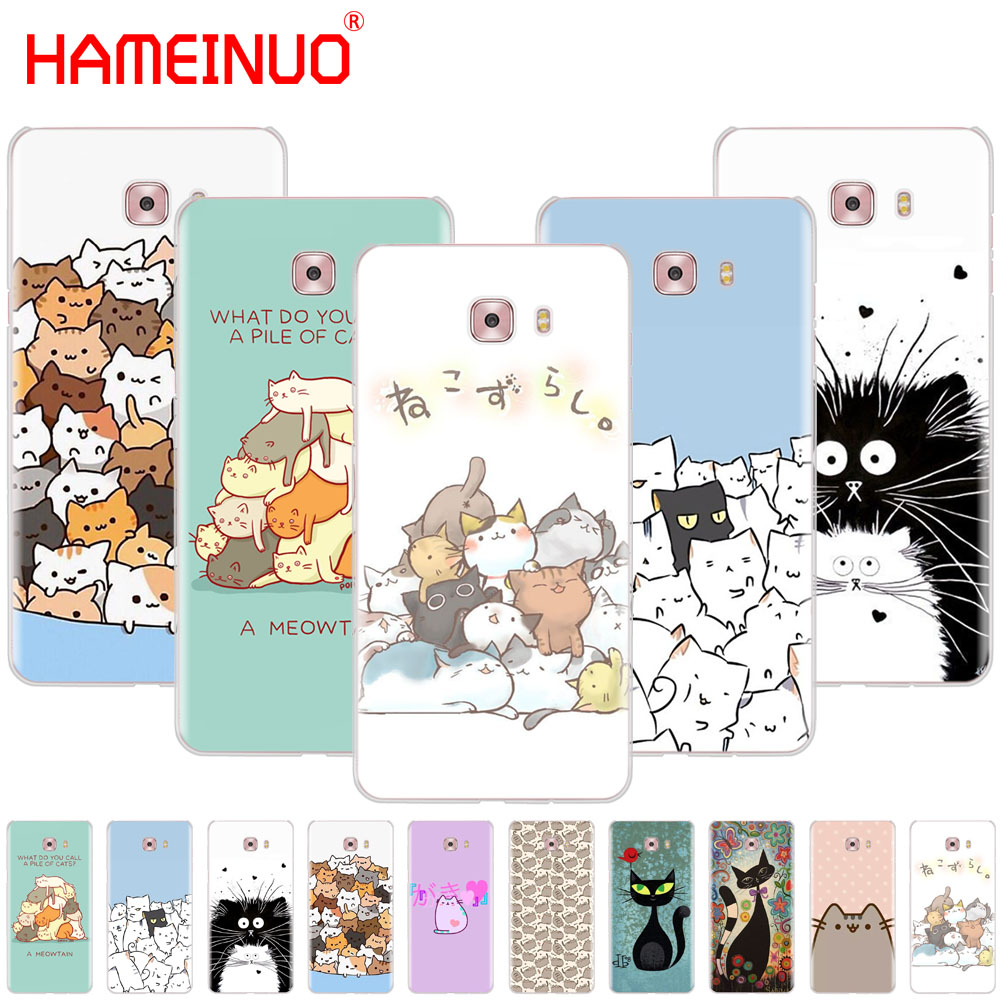 Hameinuo Space Love Sun And Moon Star Drawing Cover Phone Case For Samsung Galaxy C5 C7 C8 C9 C10 J2 Pro 2018 Cellphones & Telecommunications Half-wrapped Case