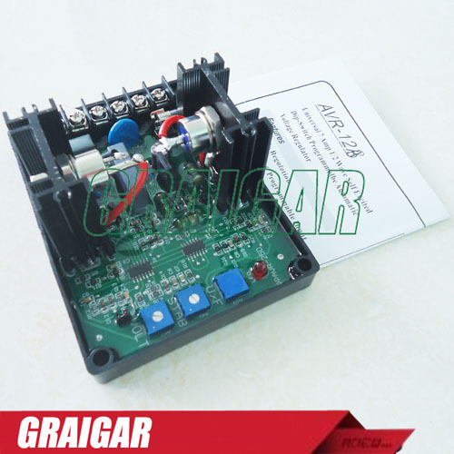 Fast Free Shipping !! Automatic Voltage Regulation Engine Generator AVR YH-12B avr h3500 free fast shipping