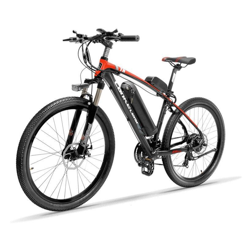 26 pouces vélo de montagne électrique 48 v batterie au lithium 400 w haute vitesse moteur léger 6061 gamme de cadre 80-120 km hydraulique EMTB