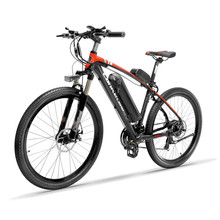 26inch electric mountian bicycle 48v lithium battery 400w high speed motor Lightweight 6061 frame range 80-120km Hydraulic EMTB
