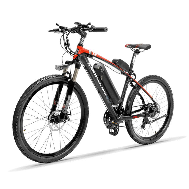26inch electric mountian bicycle 48v lithium battery 400w high speed motor Lightweight 6061 frame range 80 120km Hydraulic EMTB