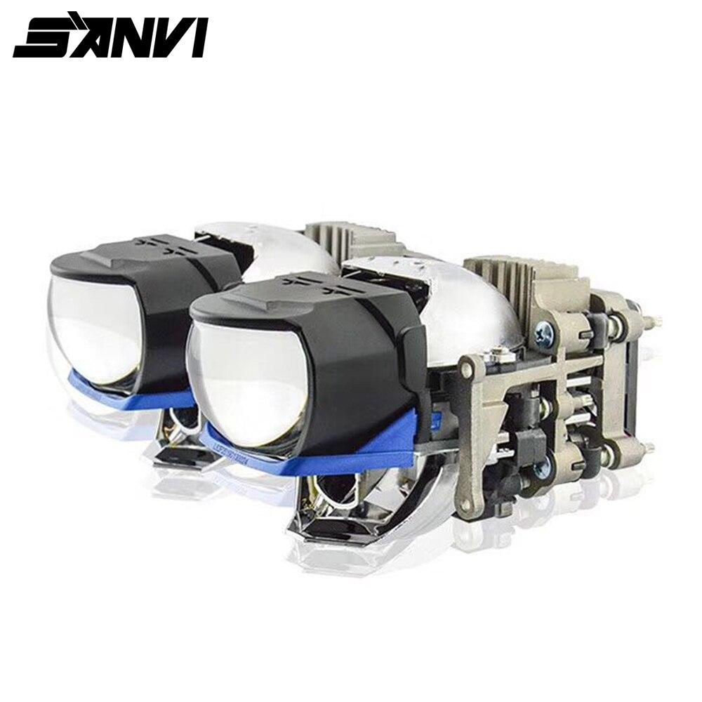 2019 Новое поступление 2 шт L81 Bi светодиодный объектив фары 60 Вт 6000k автомобильный лазер и светодиодный проектор фары для автомобильных фар ком