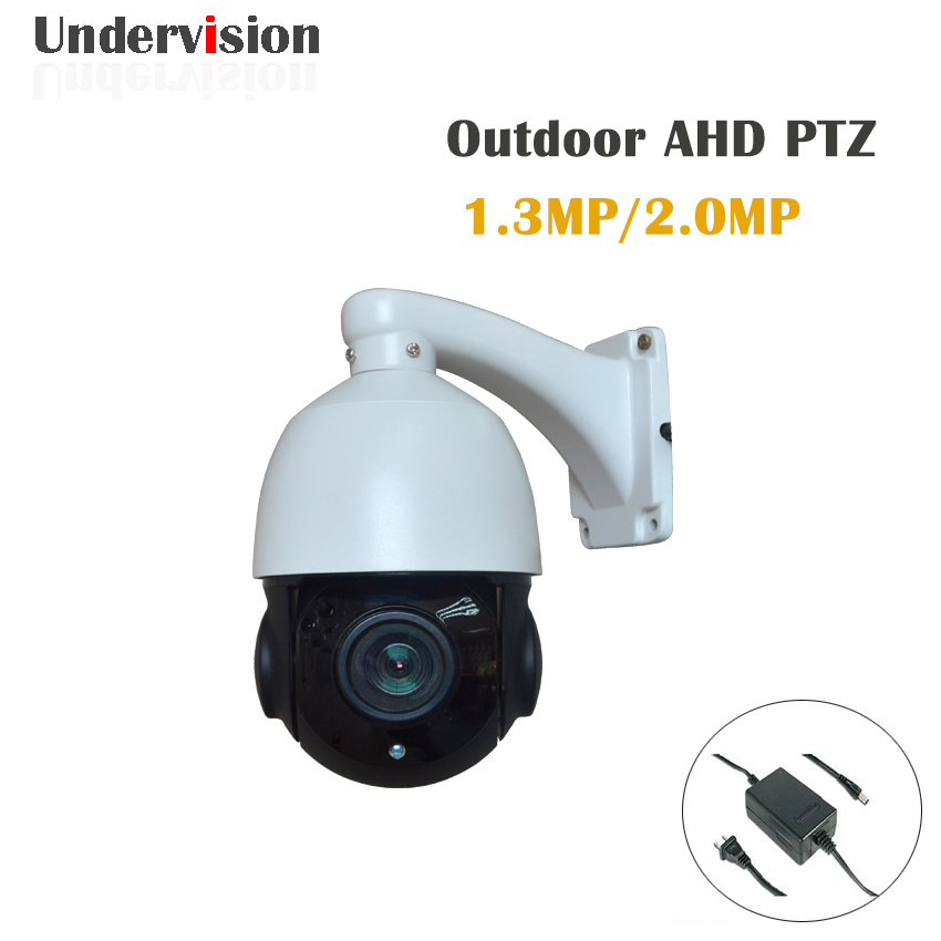 1080P AHD  speed dome Camera 3X zoom lens 360 unlimited rotation indoor IR camera 30M AHD cctv Camera 1080p 2 0mp ir ptz high speed dome camera 360 rotation ahd cvi tvi cvbs 33x zoom 4 6 152mm lens ir view range 150m with wiper