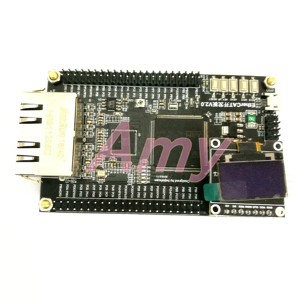 EtherCAT LAN 9252 STM32F407 CANOPEN CIA402 Development Board Learning Board